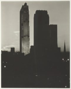 Alfred Stieglitz, New York from the Shelton