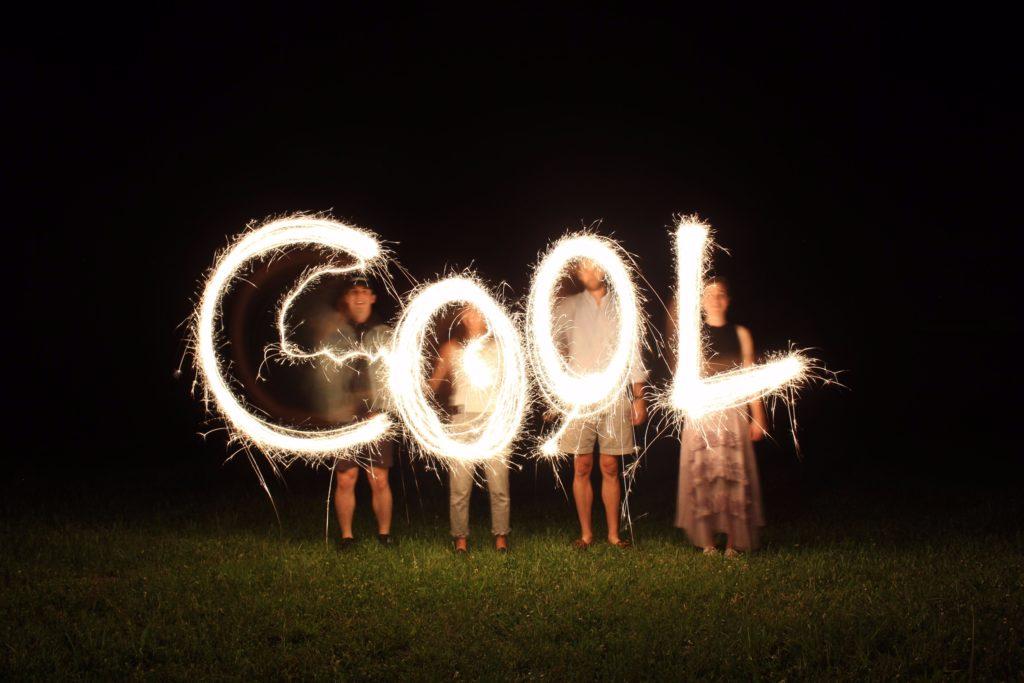 foto della scritta cool