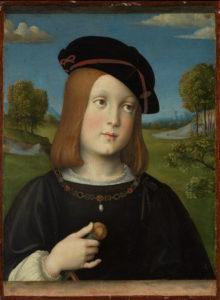 Francesco Francia, Ritratto di Federico Gonzaga, 1510 - The Metropolitan Museum of Art