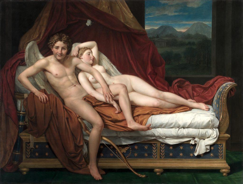Jacques-Louis David, Amore e Psiche