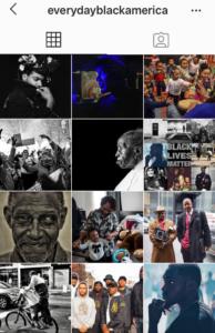 Feed Instagram di Everyday Black America